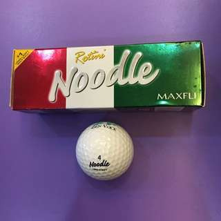 Maxfli Noodle Long Soft Golf Balls (3 Balls x 1 Box)