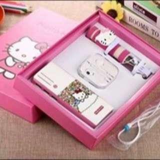 Hello Kitty Powerbank Set