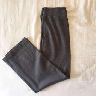 H&M grey midi skirt