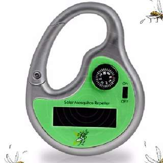 Mosquito Repellent Solar-Powered Keychain