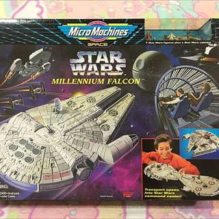 1995 Micro Machines Star Wars Millennium Falcon