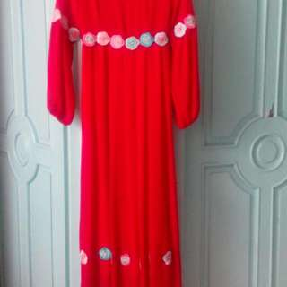 long dress....
