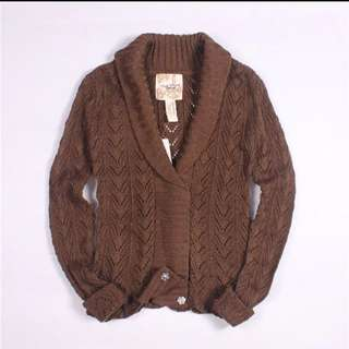 針織開衫薄短款外套外搭小披肩