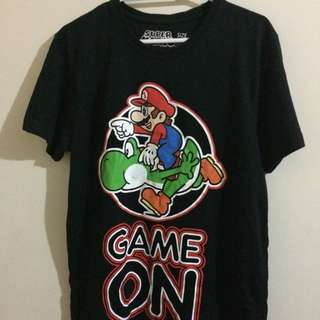 Game On! Nintendo Tee SIZE S