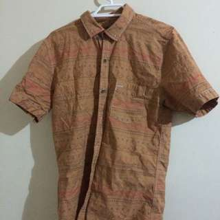 Eccentric Button-Up SIZE SMALL
