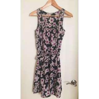 Small Flower Print Dress