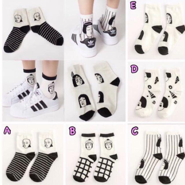 超特價💕搞怪女子韓國襪