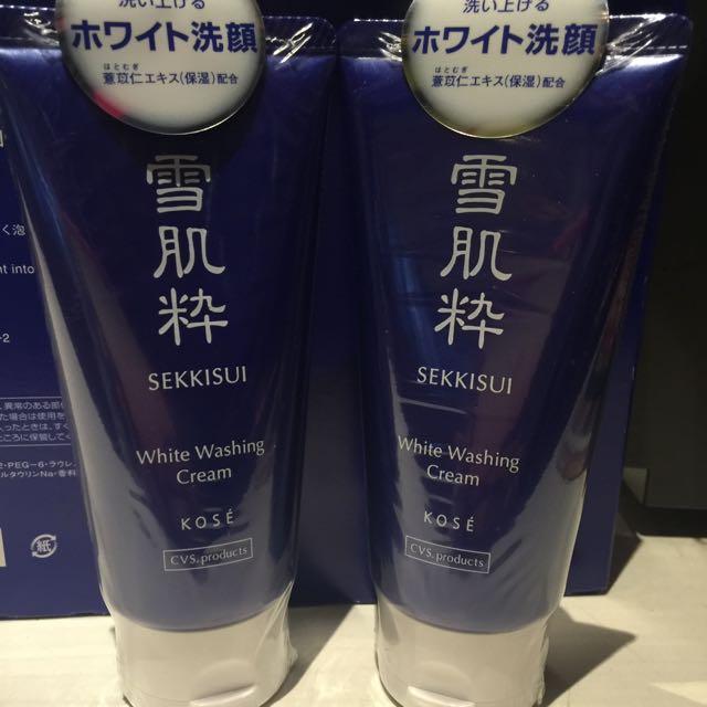 日本購入 雪肌粹洗面乳