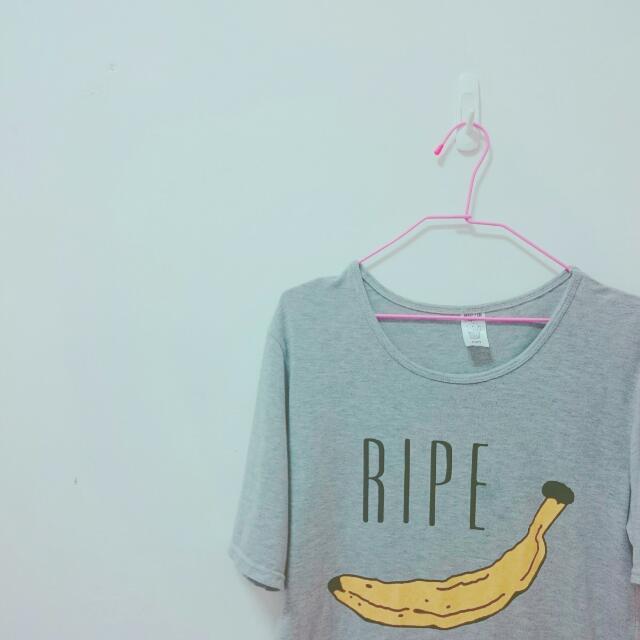 香蕉 T恤
