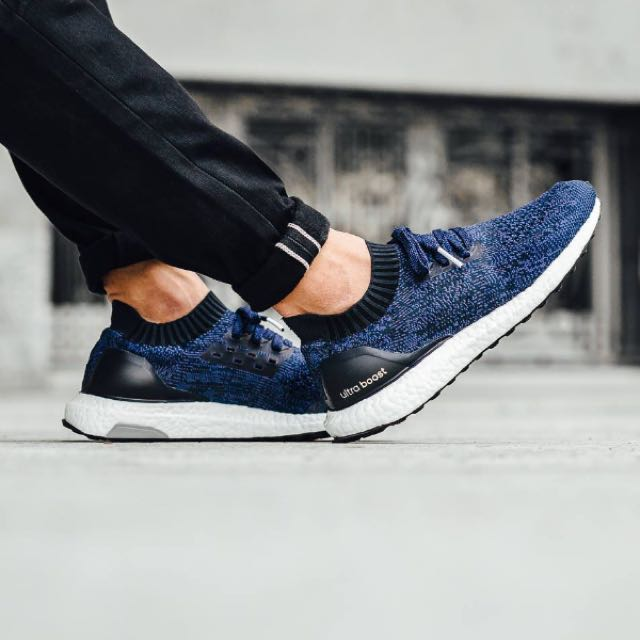 sale retailer 3c19a c6144 Adidas Ultra Boost Uncaged In Navy Blue, Men's Fashion ...