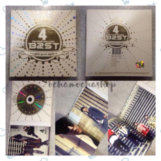 B2ST Beast Light Go On Again Album