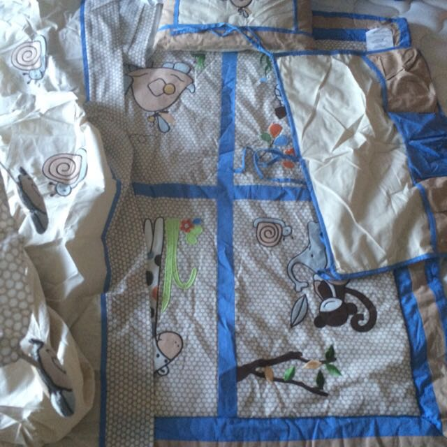 Baby Crib Bed Set