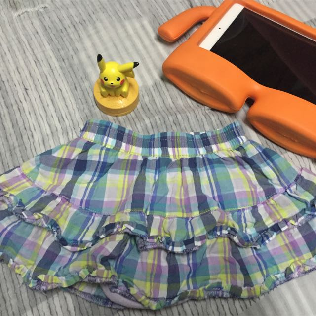 Baby Toddler Plaid Skirt