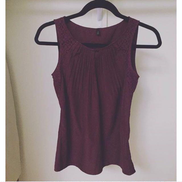 Benetton Sleeveless blouse