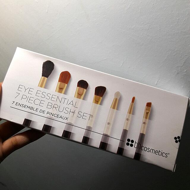 BH COSMETICS Eye Essential - 7 Piece Eye Brush