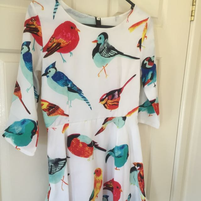 Bird Dress Size 6/8