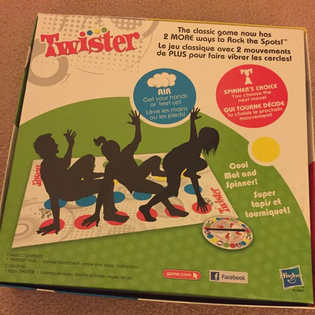 BRAND NEW CONDITION , NEVER USED OR OPENED TWISTER GAME
