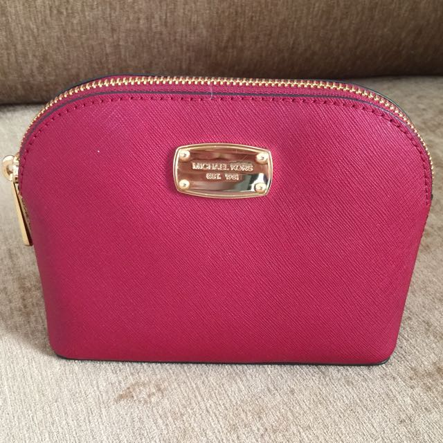 Brand New Michael Kors Cosmetic Pouch Women S Fashion Bags Wallets On Carou