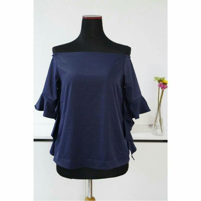 Brand New Mycca.indonesia Off Shoulder Blouse