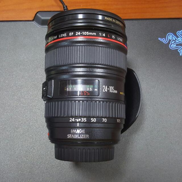 Canon Zoom Lens 24-105mm F/4L IS USM