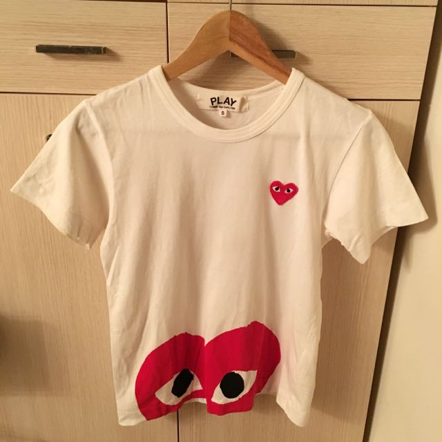 Comme Des Garçons川久保玲 紅色眼睛 T Shirt