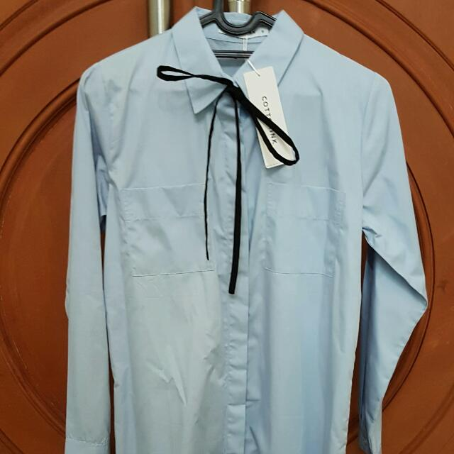 CottonInk Shirtdress Ribbon