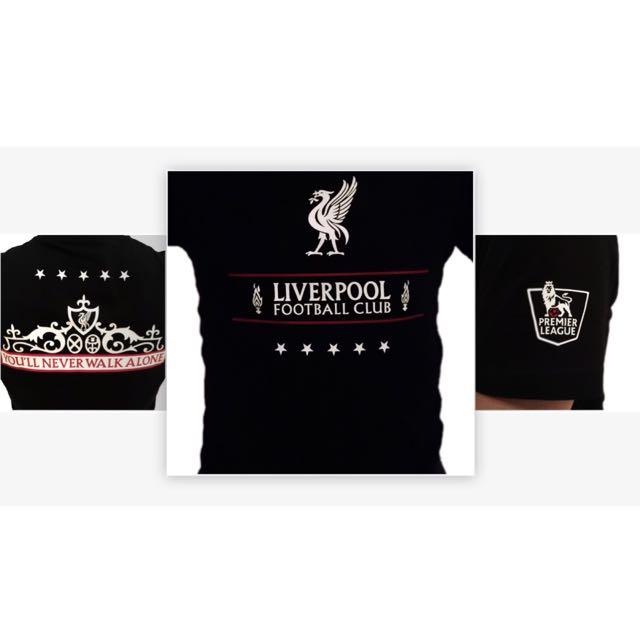 Custom Fan Liverpool FC T-shirt