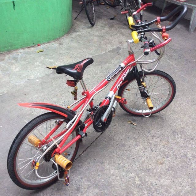 Customized BMX Bicycle
