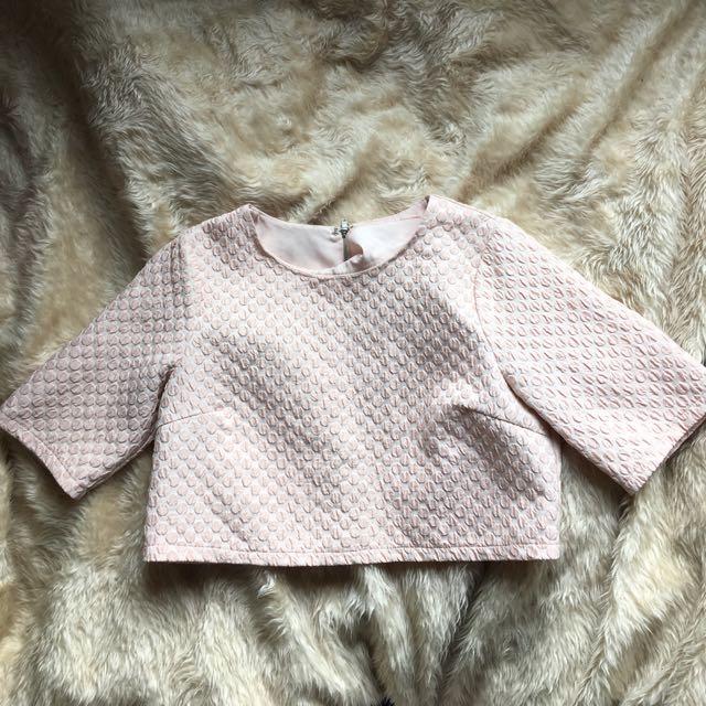 Dotti Crop Top And Midi Skirt Set