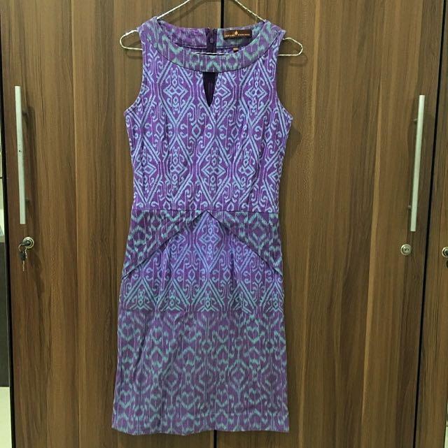 PARANG KENCANA Dress Tenun, size XS