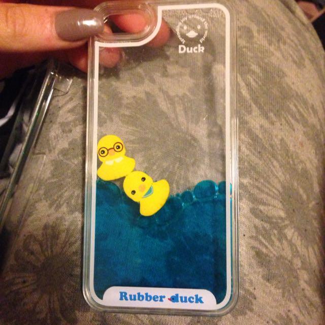 Duck Floaty iPhone 5 Case