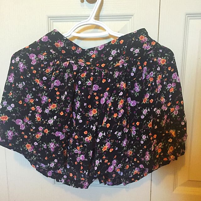 Flower Skirt/short