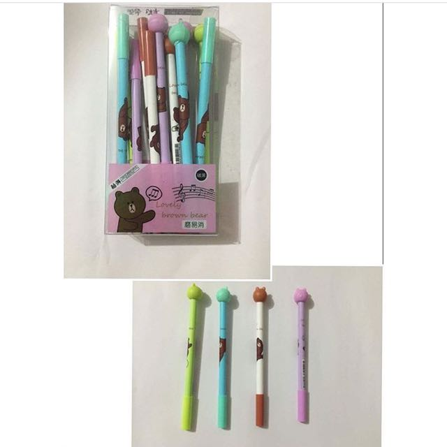 Gelpen 12pcs Black
