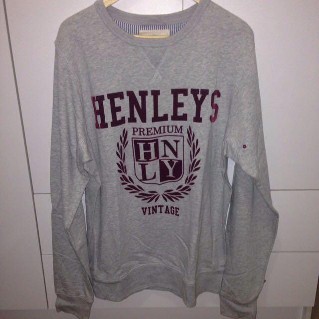 Henleys Size XL Crew Neck