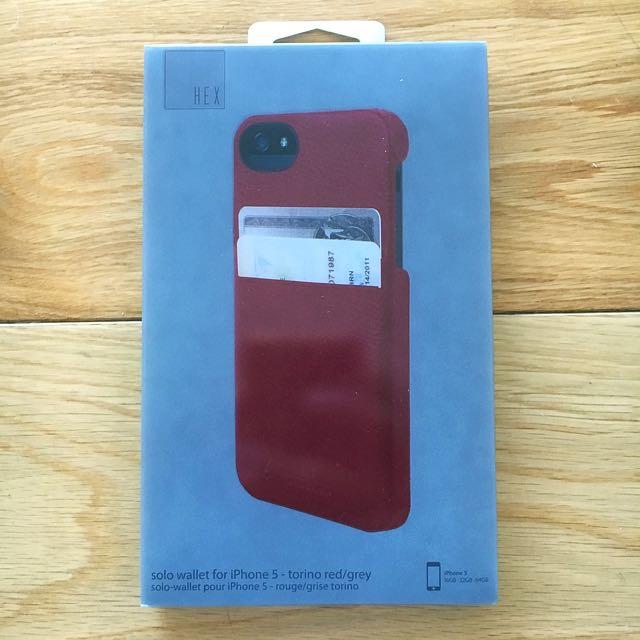 HEX iPhone 5 / 5S Wallet Case