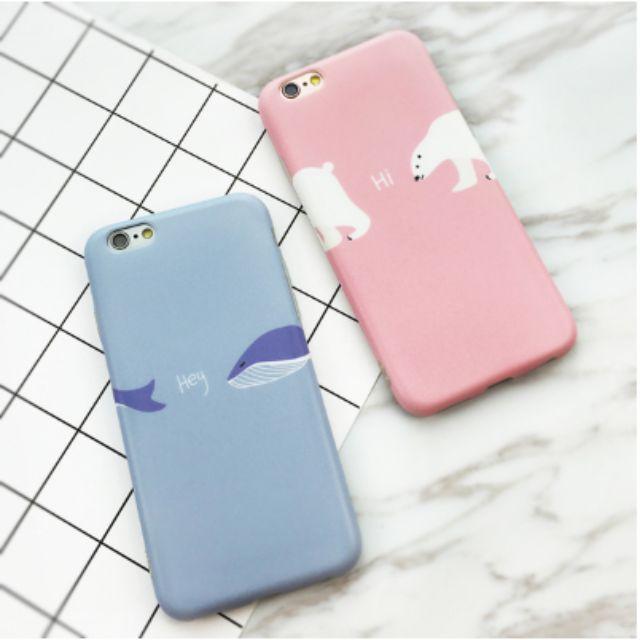 Hey鯨魚/Hi北極熊手機殼