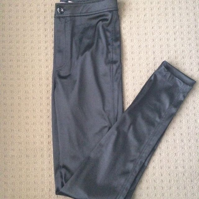 High Waisted Shine Pants/Tights