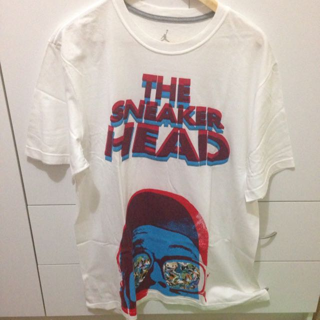 Jordan The Sneaker Head Shirt Size XL