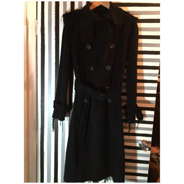 £800 Junya Watanabe Black Coat Comme Des Garçons