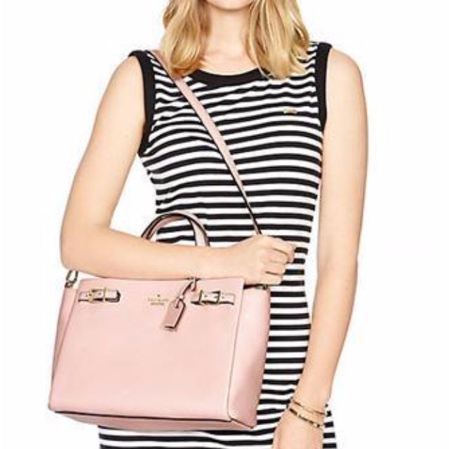 Kate Spade bag - Holden Street Lanie in Rose Jade (gently used)