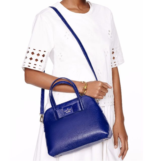 Kate Spade bag [SOLD] - Julia Street Maise in Royal Blue (as new)