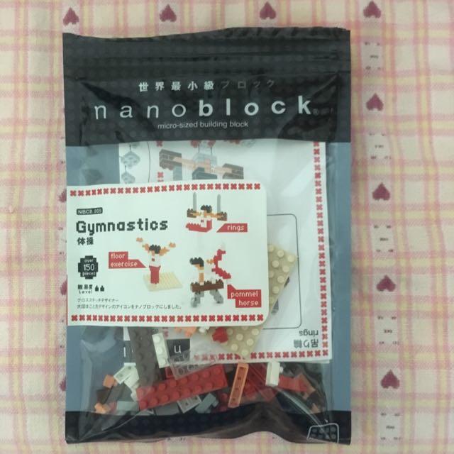 Kawada Nanoblack 運動系列/體操系列積木