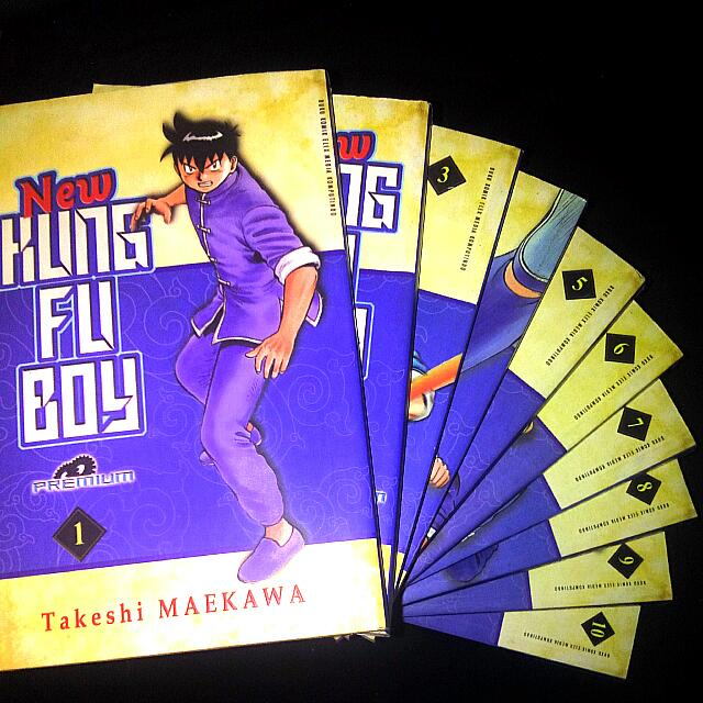 KUNG FU BOY - NEW PREMIUM 1-10 COMIC