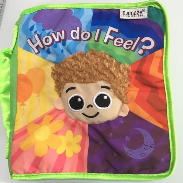Lamaze Baby Cloth Educational Book How Do I Feel?