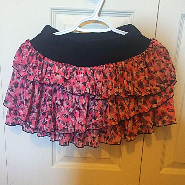 Layered Pink Skirt