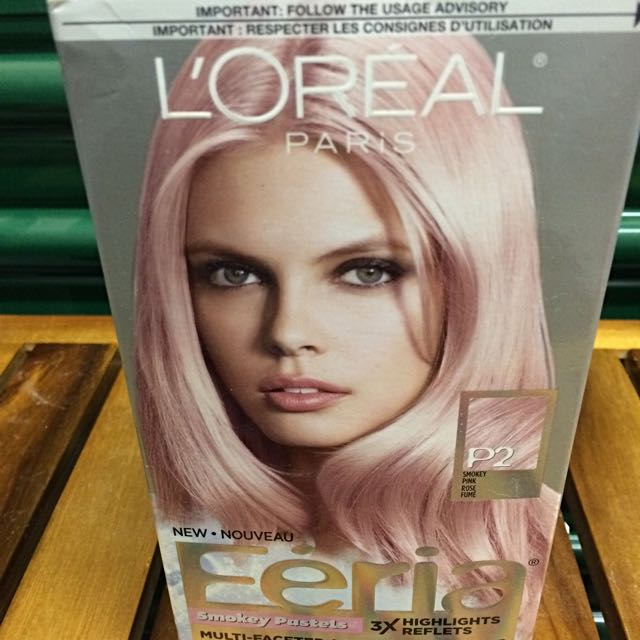 L'OREAL Hair Dye W/ Box