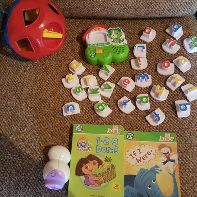 Leapfrog Letters Are Sold,leapfrog Tag And Tupperware Shapo