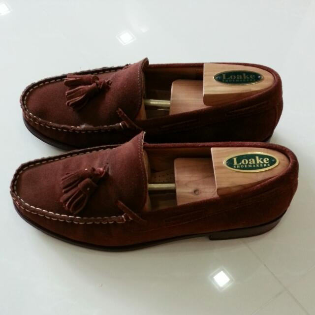 edf5ef7024c Massimo Dutti Suede Leather Loafers