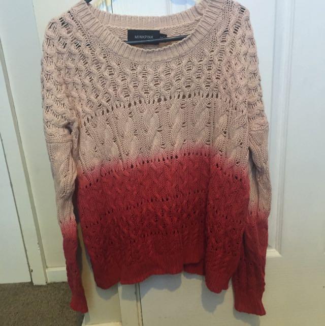 Mink Pink Knit