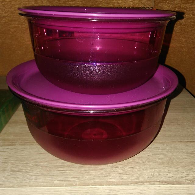 New !! Tupperware Set Dinning Bowl
